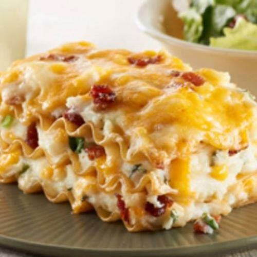 Mashed Potato Lasagna