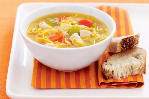 Chicken, Noodle and Vege Soup