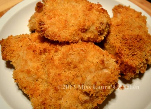 oven fried parmesan crusted chicken recipe