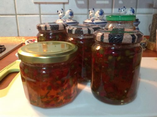 Chilli Hot Pepper Jam