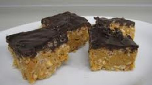 Peanut Chocolate Slice