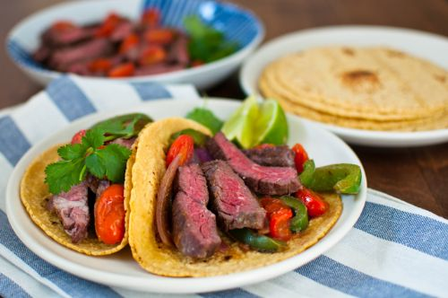Steak and Pepper Fajitas