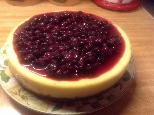 Blueberry Cheeese Cake