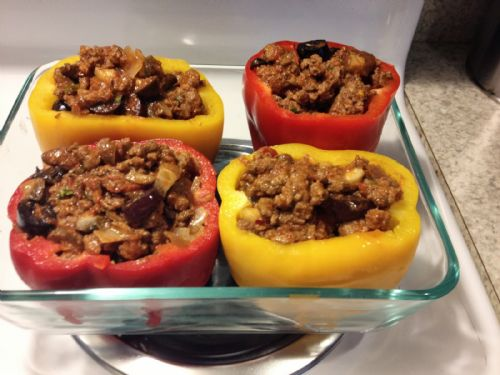 paleo stuffed pepper