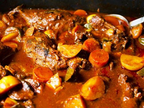 Stewed Rabbit