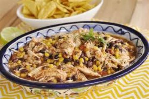 Black Bean and Corn Salsa Chicken