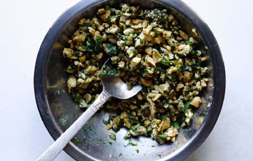Peanut and Scallion Relish