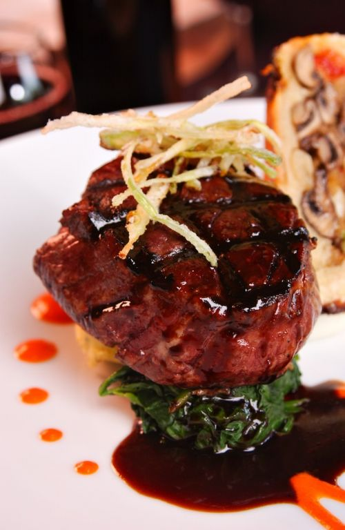 Filet Mignon with Balsamic Glaze