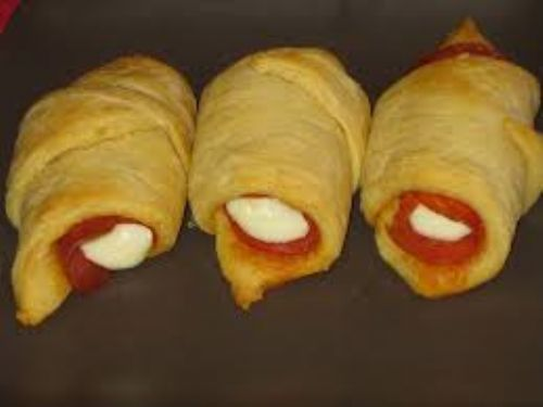 Cresent Roll Pizzas