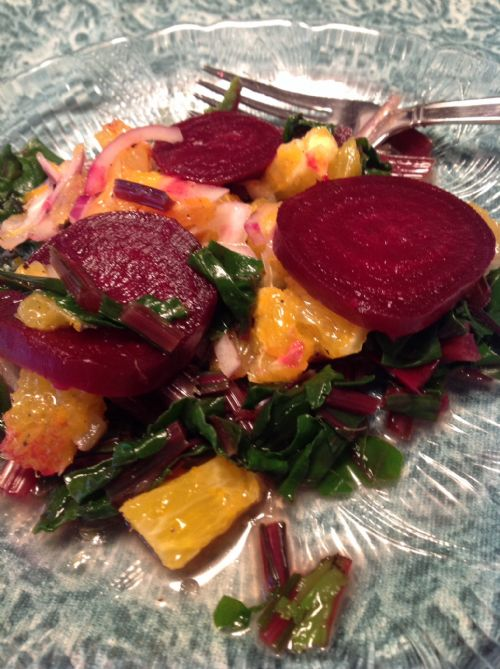 Orange and Onion Beet Salad