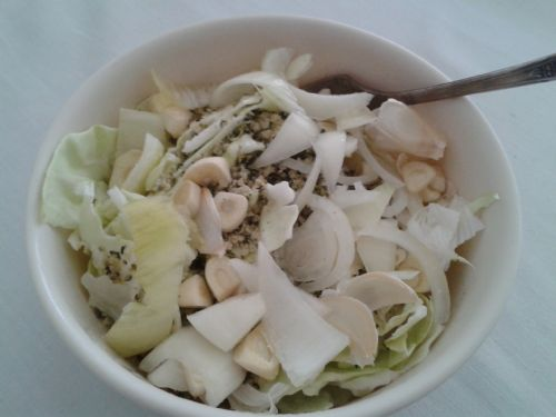 Simple Cabbage Salad