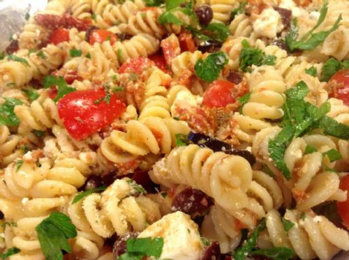 Tomato and Olive Pasta Salad