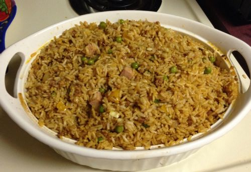 Rice with Chorizo & Ham