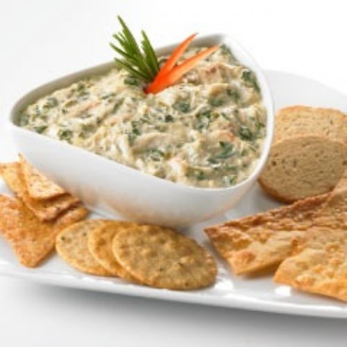 Crab Spinach Spread