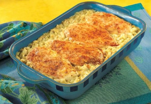 Chicken-Rice Bake