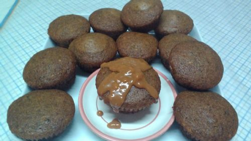 Toffee Cup Cakes