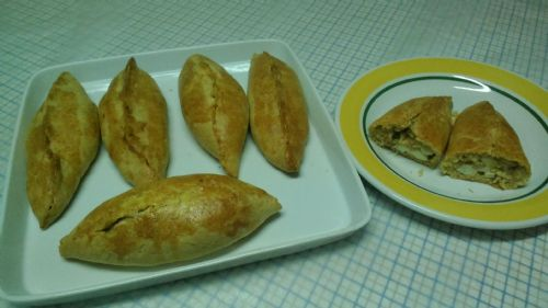 Tuna And Egg Turnovers