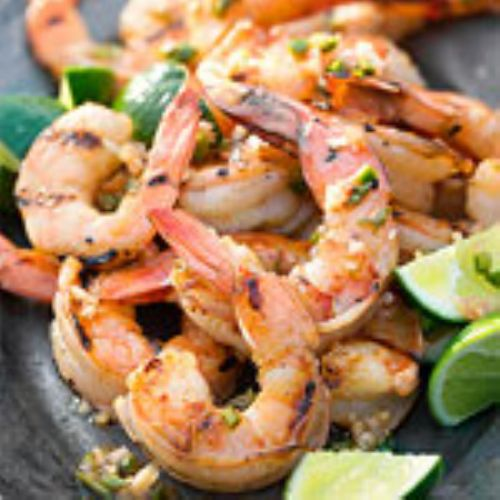 Grilled Shrimp with Vietnamese Vinaigrette