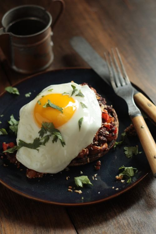 SP&O Stuffed Mushrooms with Fried Egg - 4HB