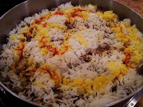 Adas Polo - Persian Rice with Lentils