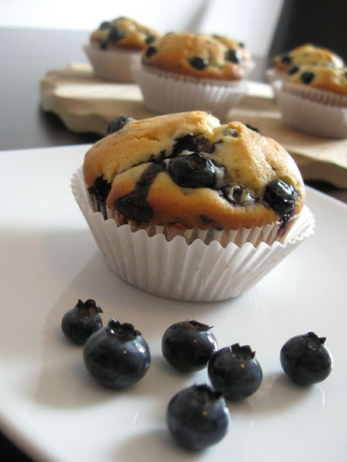 Chocolate-Blueberrie Muffins