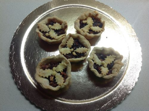 Mince pies with sugar-free pastry