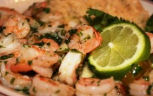 Corona and Lime Shrimp
