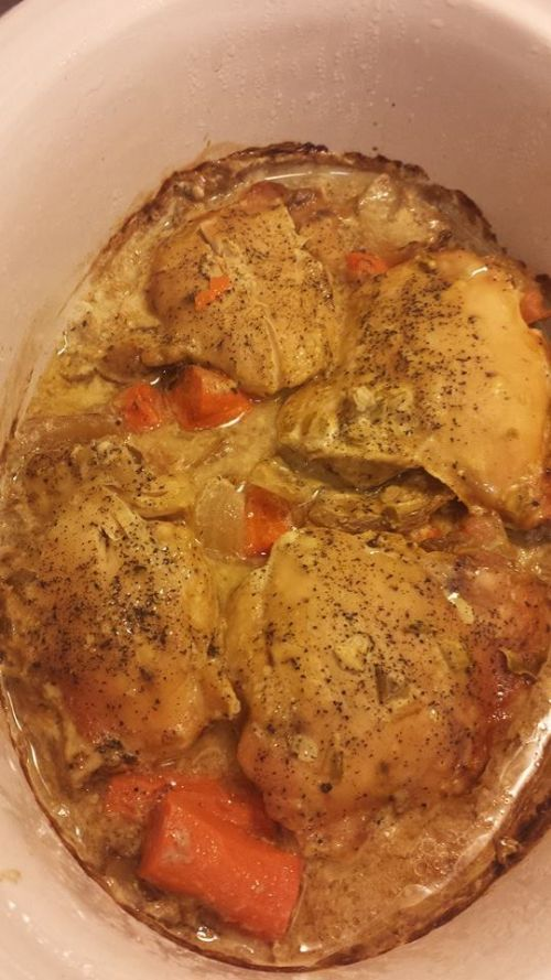 Creamy County Chicken and Vegetables