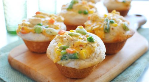 Easy Mini Chicken Pot Pie