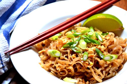 Orange Pad Thai