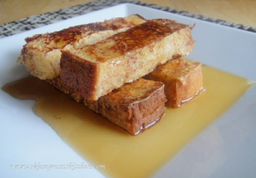 Healthier French Toast Sticks