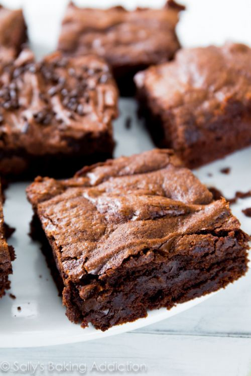 Chewy Fudge Homemade Brownies