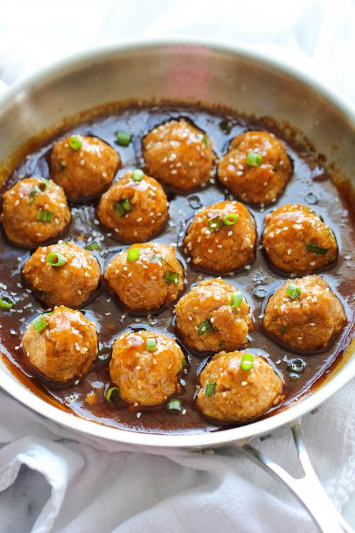 Asian Quinoa Meatballs