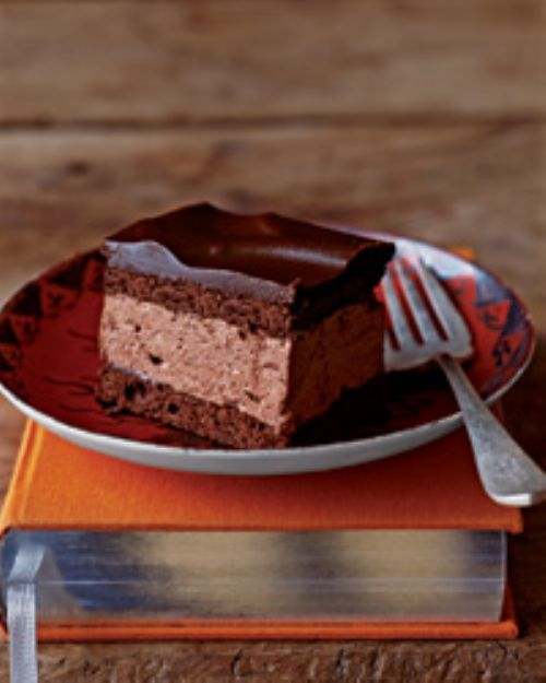 Chocolate Cream Squares