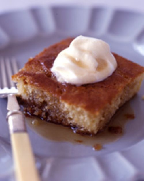 Maple Buttermilk Pudding Cake