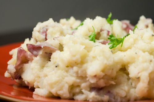 Crushed Red Potatoes with Buttermilk
