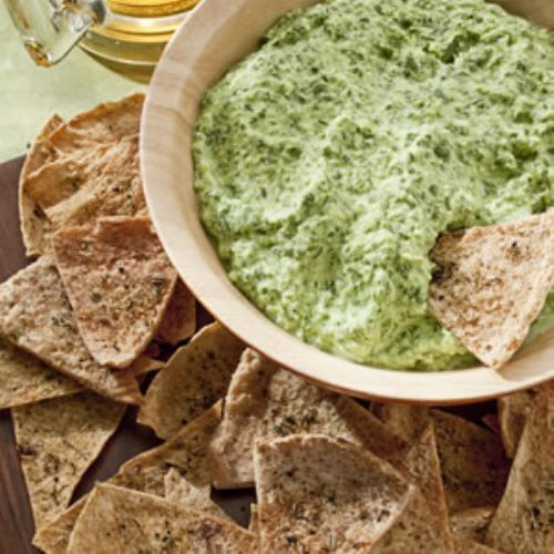 Garlic and Herb Pita Chips