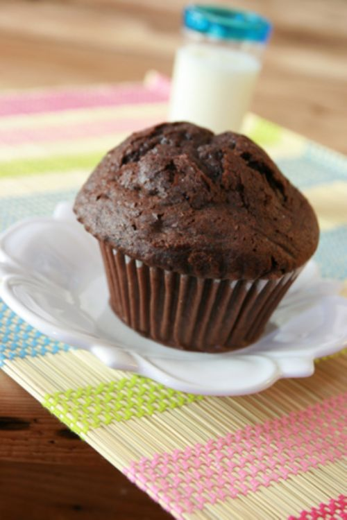Chocolate, Chocolate Chip Muffins