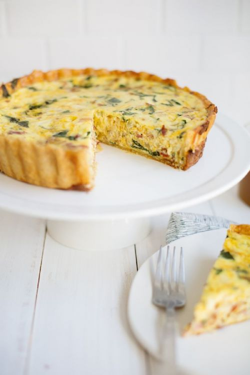 Baon Spinach Quiche