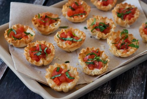 Pizza Phyllo Cups