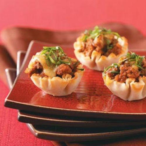 Mexican Phyllo Cups