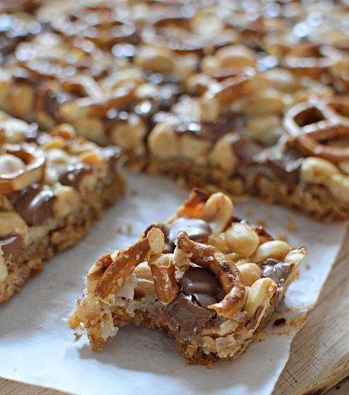 Pretzel Magic Bars