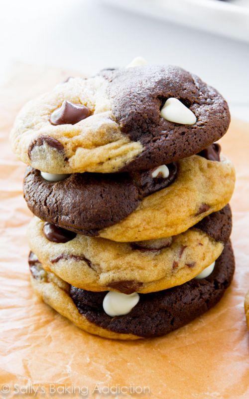 Double Chocolate Swirl Cookies Recipe