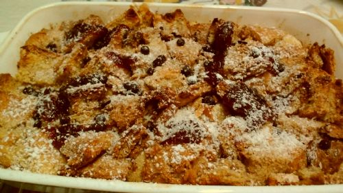 Maple Syrup French Toast Pudding