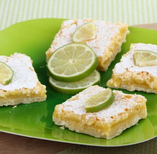 Coconut key Lime Bars Recipe