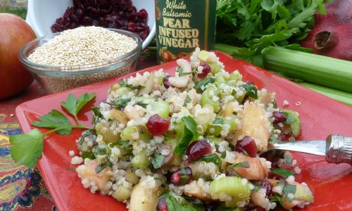 Cranberry Walnut Quinoa Salad