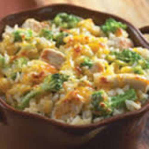Leftover Turkey Rice Casserole