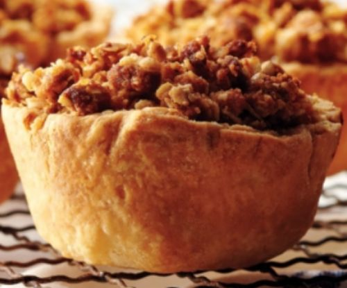 Apple Crisp Tartlets
