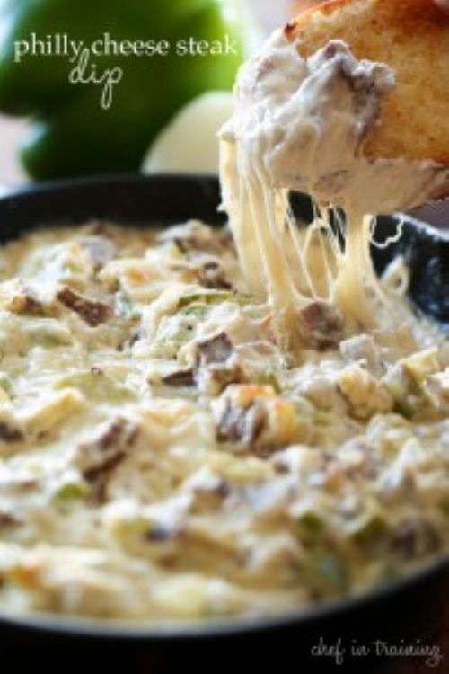 Philly Cheese Steak Dip