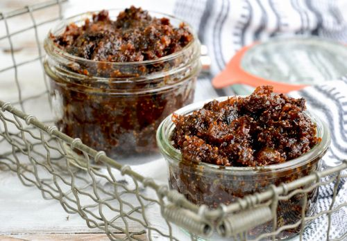 Fig and bacon jam